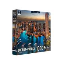 Quebra Cabeça 1000 peças Marina de Dubai Toyster Puzzle -