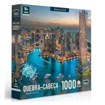 Quebra Cabeça 1000 Peças Marina de Dubai - Toyster -