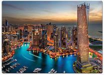 Quebra-Cabeça 1000 Peças Marina De Dubai - Toyster -