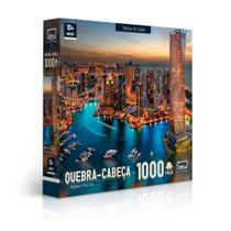 Quebra Cabeça 1000 Peças Marina de Dubai Toyster -