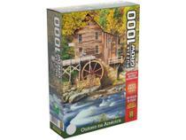 Quebra-cabeça 1000 Peças Outono na América - Grow -