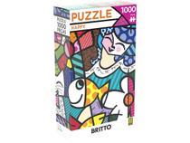 Quebra-cabeça 1000 Peças Paisagem - Puzzles Adultos Happy Romero Britto Grow