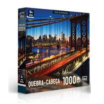 Quebra-Cabeça 1000 peças Ponte de Manhattan- Toyster -