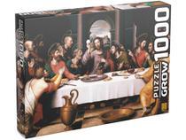 Quebra-cabeça 1000 Peças Puzzles Santa Ceia - Grow