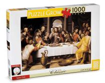 Quebra-cabeça 1000 Peças Santa Ceia - Grow -