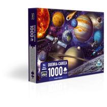 Quebra-Cabeça - 1000 peças - Viagem Cósmica - Game Office - Toyster -