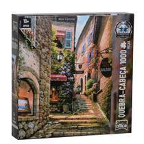Quebra-Cabeça 1000 Peças - Vielas Francesas Dia - Game Office - Toyster