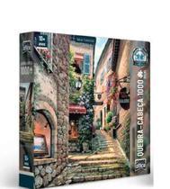 Quebra - Cabeça 1000 Peças Vielas Francesas Escada - TOYSTER