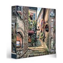 Quebra-Cabeça 1000 peças Vielas Francesas Escadarias - Toyster -