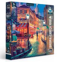 Quebra-Cabeça 1000 Peças Vielas Francesas - Toyster -