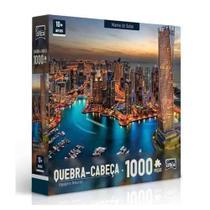 Quebra Cabeça 1000pcs Paisagens Noturnas Dubai Toyster -