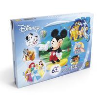 Quebra Cabeça 150 Peças Puzzle Disney Grow -