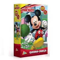 QUEBRA-CABEÇA 200 Peças Mickey - Mickey JAK 2586 -