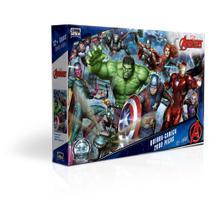 Quebra-Cabeça - 2000 Peças - Disney - Marvel - Os Vingadores - Game Office - Toyster -