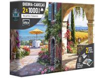 Quebra-cabeça 2000 Peças Recantos Italianos  - G.Office Toyster 2667
