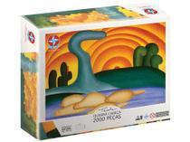Quebra-cabeça 2000 Peças Tarsila do Amaral - Estrela -