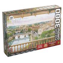 Quebra-Cabeça - 3000 Peças - Varanda em Roma - Grow -