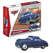 Quebra-Cabeça 3D Carros Disney - Doc Hudson - Dtc