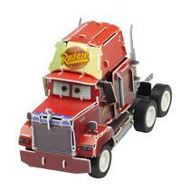 Quebra-Cabeça 3D Disney Carros Mack - DTC 3806 -