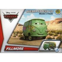 Quebra-Cabeça 3D Disney Carros Movido a Fricção Fillmore DTC -
