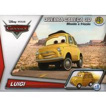 Quebra-Cabeça 3D Disney Carros Movido a Fricção - Luigi -DTC -
