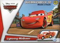 Quebra-Cabeça 3D Disney Carros Movido a Fricção Mcqueen DTC -