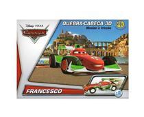 Quebra Cabeça 3D Disney Carros Movido Fricção Francesco- DTC -