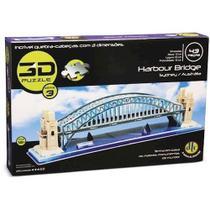 Quebra Cabeça 3d Puzzle Harbour Bridge 43 Peças Dtc -