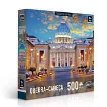 Quebra-Cabeça - 500 Peças - Basílica de São Pedro - Toyster -
