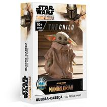 Quebra-Cabeça - 500 Peças - Disney - Star Wars - The Mandalorian - The Child - Baby Yoda - Toyster -