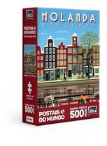 Quebra Cabeça 500 Peças Nano Holanda Amsterdan 2839 Toyster -
