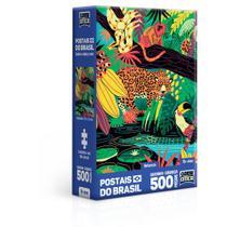 Quebra-Cabeça - 500 Peças Nano - Postais do Brasil - Natureza - Game office - Toyster -