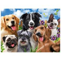 Quebra-Cabeça - 500 peças - Selfie Pets - Grow