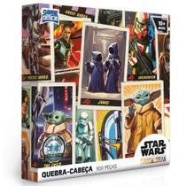 Quebra Cabeça Adulto Star Wars Mandalorian Edição Especial 500 peças Toyster - 002794 -