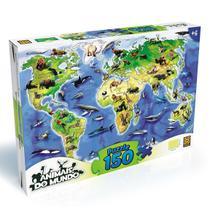 Quebra Cabeça Animais do Mundo Puzzle 150 peças Grow 03108 -