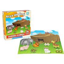 Quebra Cabeça Arca de Noé - 60 peças - Nig Brinquedos -