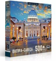 Quebra Cabeça Basilica De São Pedro 500 Peças Toyster -
