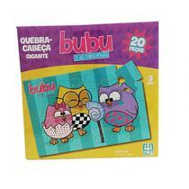 Quebra-Cabeça Bubu e as Corujinhas - 20 Peças - Nig Brinquedos -