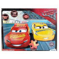Quebra Cabeça Carros 3 Disney 100 Peças Xalingo -