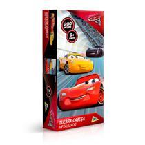 Quebra-Cabeça Carros Metalizado 200 Peças - Toyster -