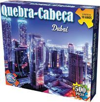 Quebra-Cabeça Cartonado Dubai 500 Peças - Pais E Filhos