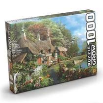 Quebra-Cabeça Casa no Lago 1000 peças 2963 - Grow -