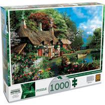 Quebra-Cabeça Casa no Lago 1000 Peças - Grow -