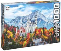 Quebra Cabeça Castelo de Neuschwanstein 1000 Peças - Grow 3734 -