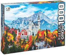 Quebra Cabeça Castelo de Neuschwanstein - 1000 Peças - Grow -