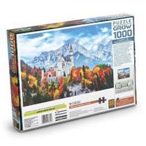 Quebra-Cabeça Castelo de Neuschwanstein 1000 peças - Grow