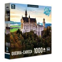 Quebra Cabeça Castelo de Neuschwanstein 1000 Peças Toyster -