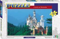 Quebra-Cabeça - Castelo na Montanha - 260 Peças - Nig Brinquedos -
