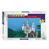 Quebra-Cabeça - Castelo na Montanha - 260 peças - NIG - Nig brinquedos -