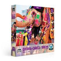 Quebra-Cabeça Cores da Ásia 1000 Peças Índia 002635 - Toyster -